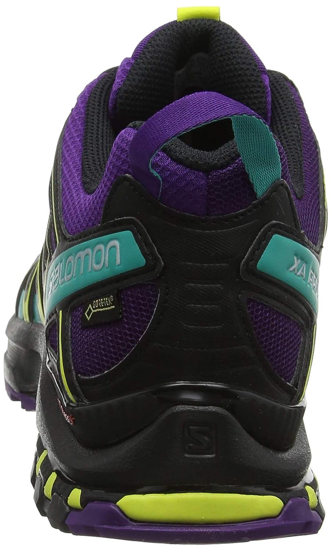 Salomon Damen Xa Pro Violett 3D GTX W Traillaufschuhe, Violett Pro (schwarz/Dynasty Grün) 01674f