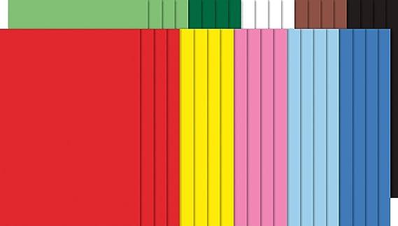 2,09 EUR//m² Tonkarton Tonpapier 60 Blatt Tonzeichenpapier A4 10 Farben sort