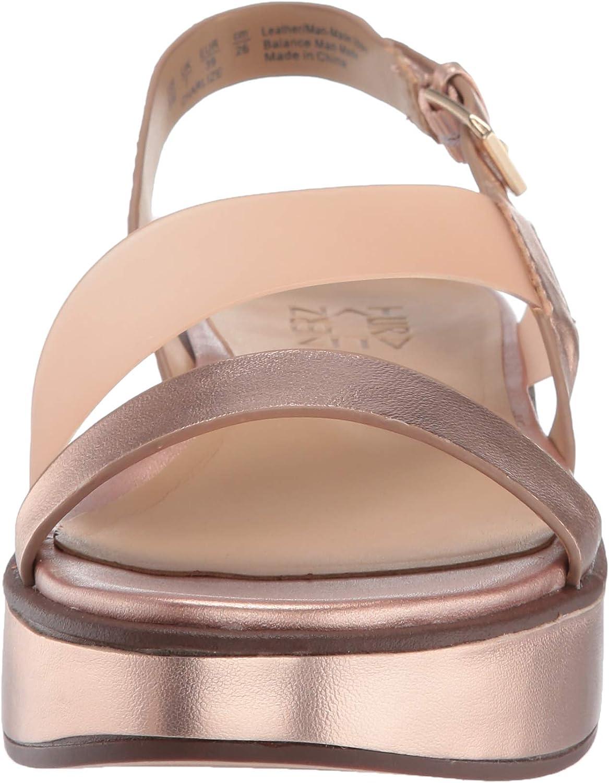 Naturalizer Charlize Leather Platform Sandal