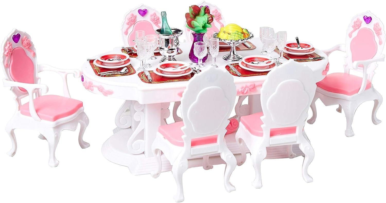 Irra Bay Dollhouse Furniture (Deluxe DINNIG Room Set)