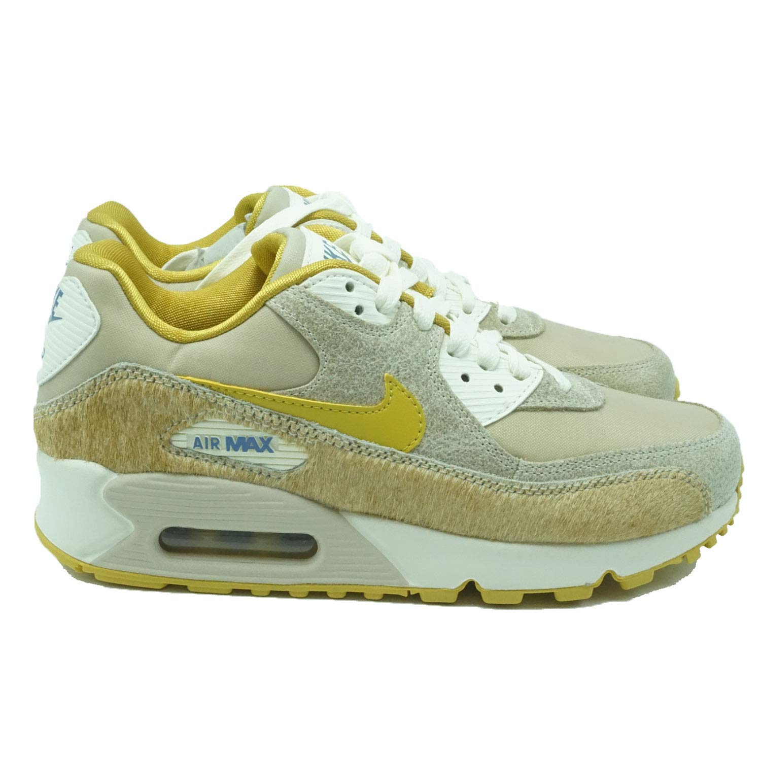 buy online 5eb53 305cf Galleon - Nike Women s Air Max 90 Wheat Gold-Sail Ficelle AT4968-200 (Size   8)