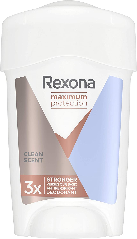 Rexona Maximum Protection Clean Scent - Desodorante Antitranspirante 45ml, Pack de 6: Total 270 ml