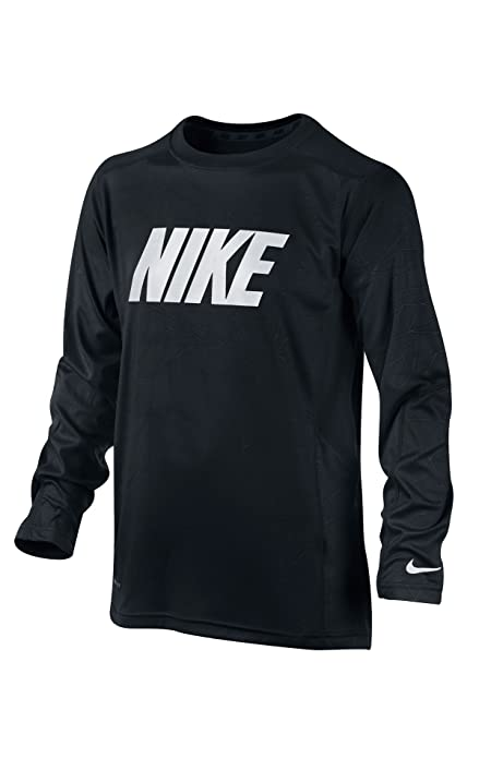 Nike - Camiseta de pádel para niño, tamaño XS, Color Negro: Amazon ...