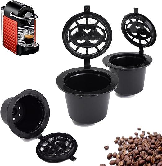 Farway - Filtro de recambio reutilizable para cafetera Nespresso ...