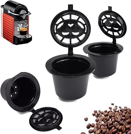 Farway - Filtro de recambio reutilizable para cafetera Nespresso: Amazon.es: Hogar