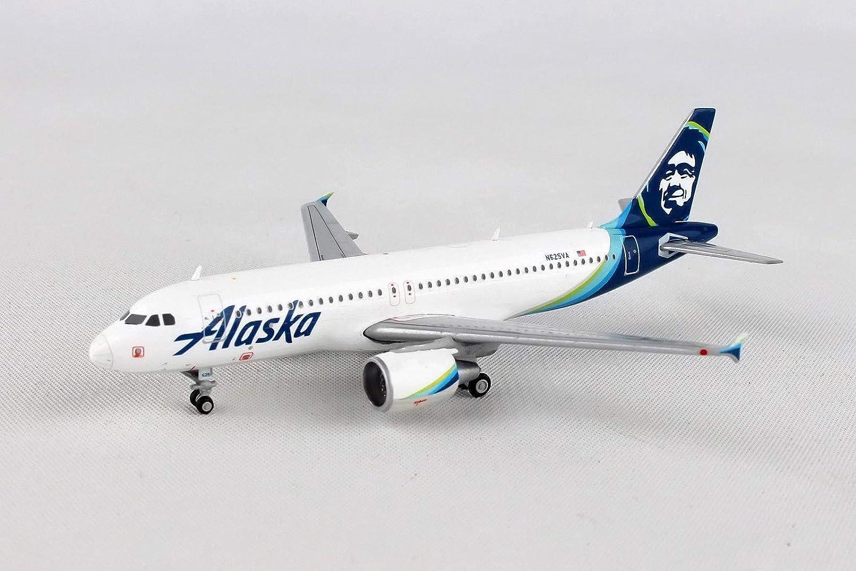New Gemini Jets Alaska Airlines Airbus A320 GJASA1774 1//400 REG#N625VA