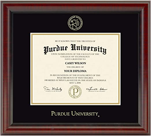 M LA HART Northwestern University Diploma Frame The Fidelitas