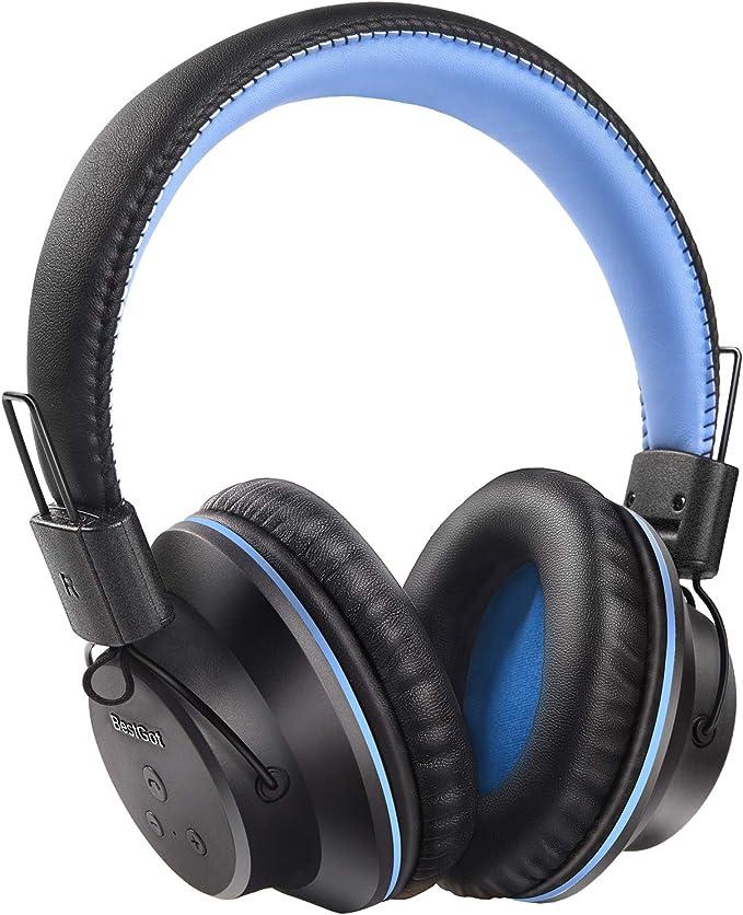 Bluetooth Headphones, BestGot S1 Wireless Headphones Over