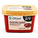 Chung Jung One Sunchang Hot Pepper Chili Paste Gold (Gochujang) (1 kg x 1)