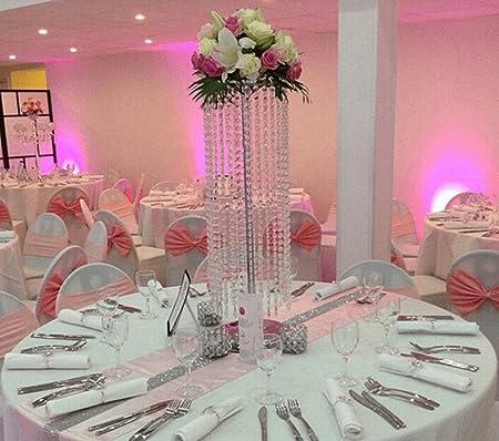 Everbon - Juego de 10 lámparas de araña para boda, diseño de ...