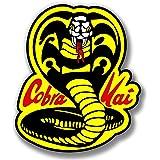 "Vinyl Sticker Die Cut Cobra Kai Logo Karate Premium Quality Decal for Bumpers Windows Laptops, 4"""