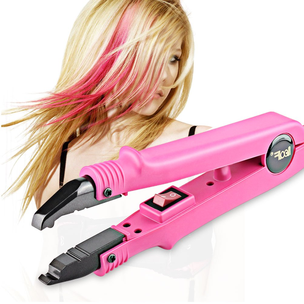 Professional Hair Extensions Tool Fusion Heat Iron Connector Wand Melting Tool Rose BlueTop