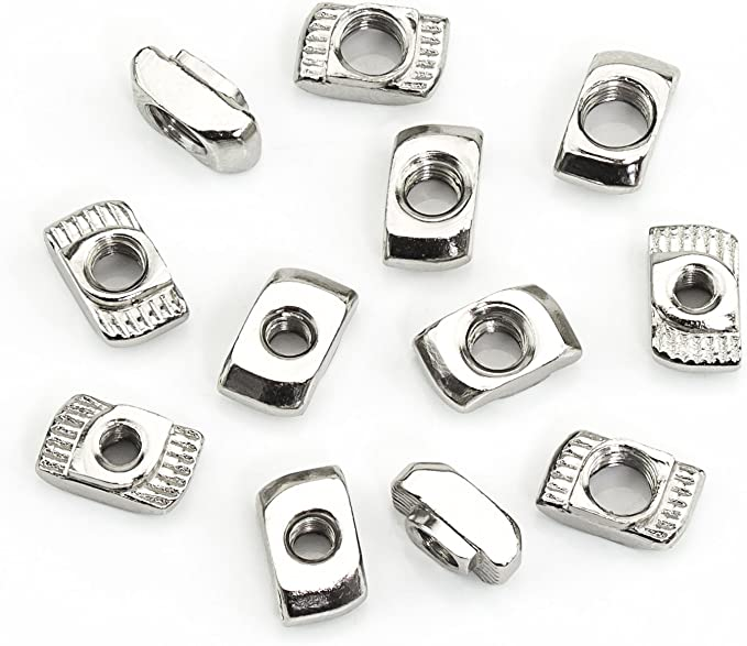 Dimensioni : 100pcs M1.6 Brass Nologo Hex Nut Stainless Steel Nut Hexagon Nut Stainless Steel