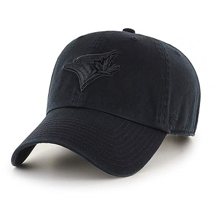47 Brand Toronto Blue Jays Clean Up MLB Dad Hat Cap Black Black   Amazon.ca  Clothing   Accessories fef0ee562fe