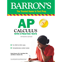 AP Calculus: With 8 Practice Tests (Barron's Test Prep)