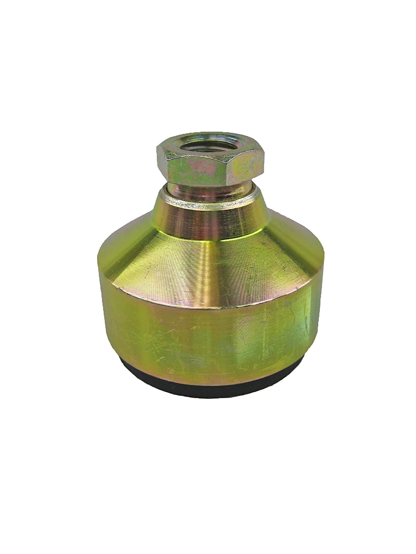 1230lbs Maximum Load Capacity Inc. 1-1//4-7 Thread Size J.W Yellow Zinc Plated Finish Winco ANTI-VIBE 16TAVL//MDM Series AVLM Low Carbon Steel Medium Duty Tapped Socket Type Anti-Vibration Leveling Mount Inch Size