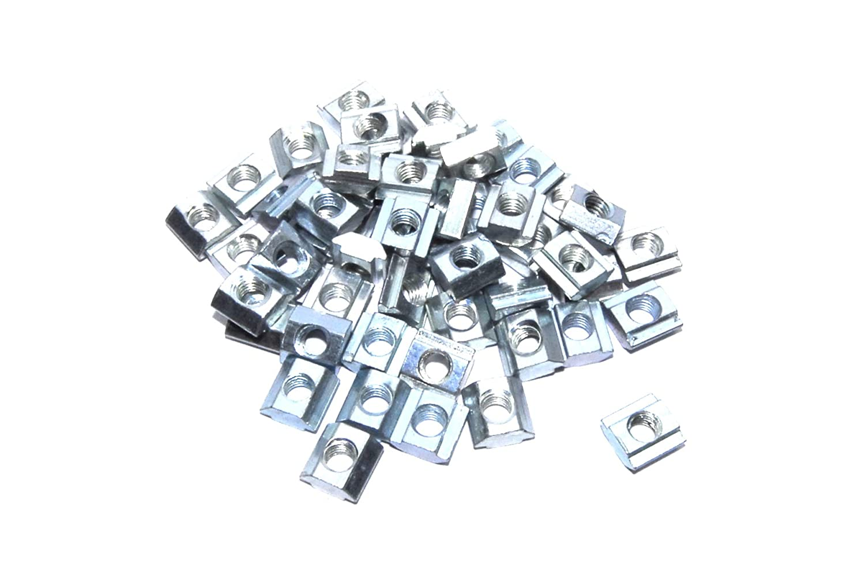 50 piezas M5 T tuerca CNC 2020 marco aluminio impresora 3D plata ...