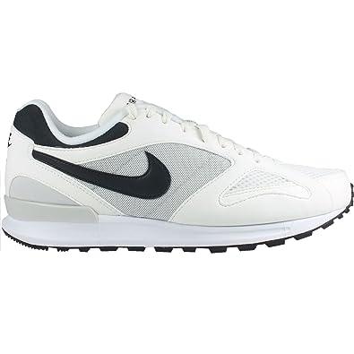 Nike Air Pegasus New Racer Men's Running Shoes (6, Weiß / Grau / Schwarz