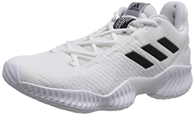 promo code d8d64 4088b adidas Men s Pro Bounce 2018 Low, Cloud White CORE Black Crystal White,