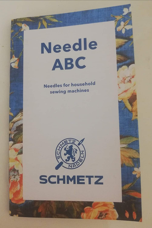 SCHMETZ ABC Guía de agujas – Guía de bolsillo para máquina de ...