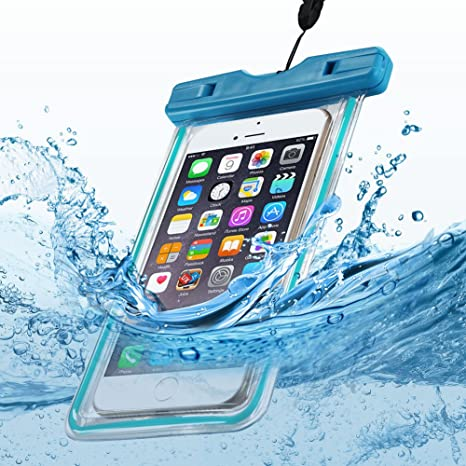 Funda Impermeable para Teléfono Anfire Transparente Estanca Sumergible Bolsas Móviles para [6.2 Pulgadas] [Pantalla Táctil] IPX8 Prueba de Agua ...