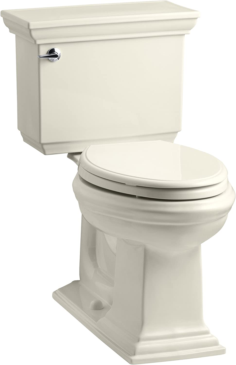 Almond Kohler K-3819-47 Memoirs/Â Stately Comfort Height/Â Toilet
