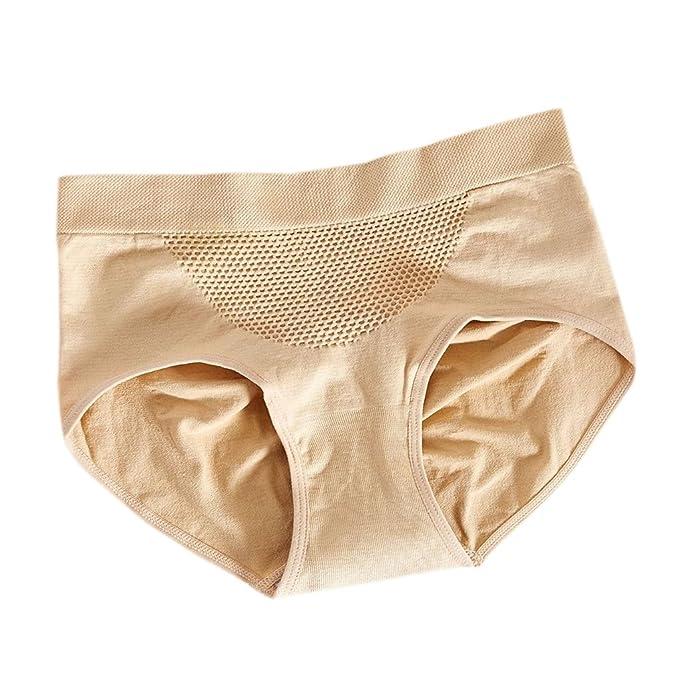 Frauen Spitze Hohe Taille Nahtlose Unterwäsche Höschen Schlüpfer Wäsche/_Slips