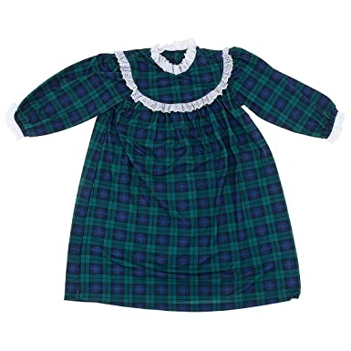 blackwatch classic christmas nightgown for little girls 2t