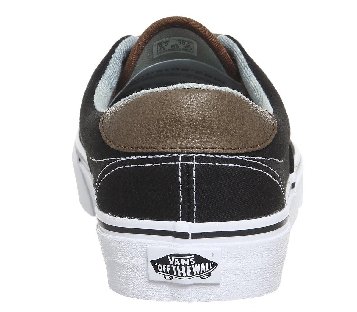 Vans Mens Era 59 (C&L) Black/Acid Denim Denim Black/Acid Skateboarding Sneakers VN0A38FSQ (11.5 Women/10 Men M US, Black/Acid Denim) B074HCL3TM Fashion Sneakers 14e705