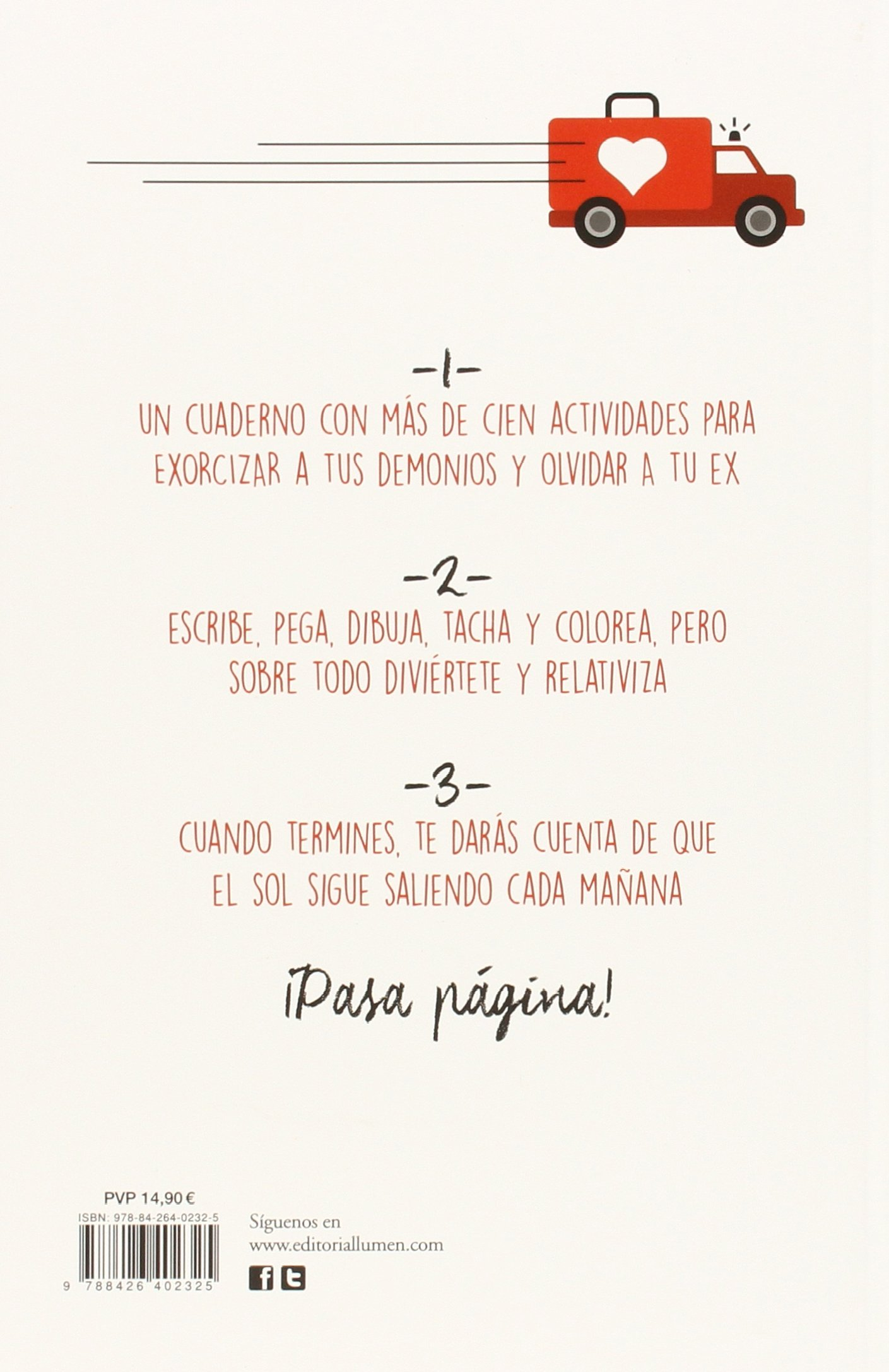 Pasa página (Cuaderno de actividades para olvidar a tu ex) (Spanish Edition): Rebecca Beltran, Adria Fruitos: 9788426402325: Amazon.com: Books