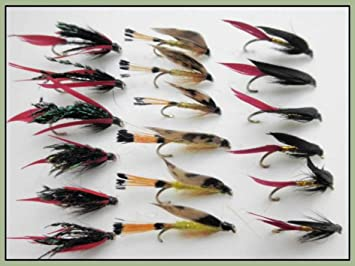 Sea Trout Flies Choice of sizes 6 x Woodcock /& Yellow Large Trout Flies