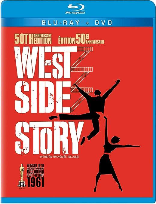West Side Story Three Disc 50th Anniversary Blu Ray Dvd Combo In Blu Ray Packaging Natalie Wood George Chakiris Richard Beymer Russ Tamblyn Rita Moreno Simon Oakland Ned Glass William Bramley Tucker Smith Tony Mordente