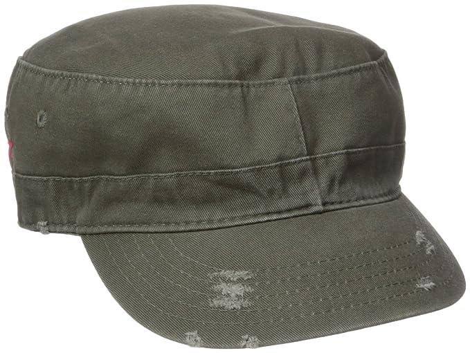7d22675a3 Dorfman Pacific Co. Men's Washed Twill Cadet Cap