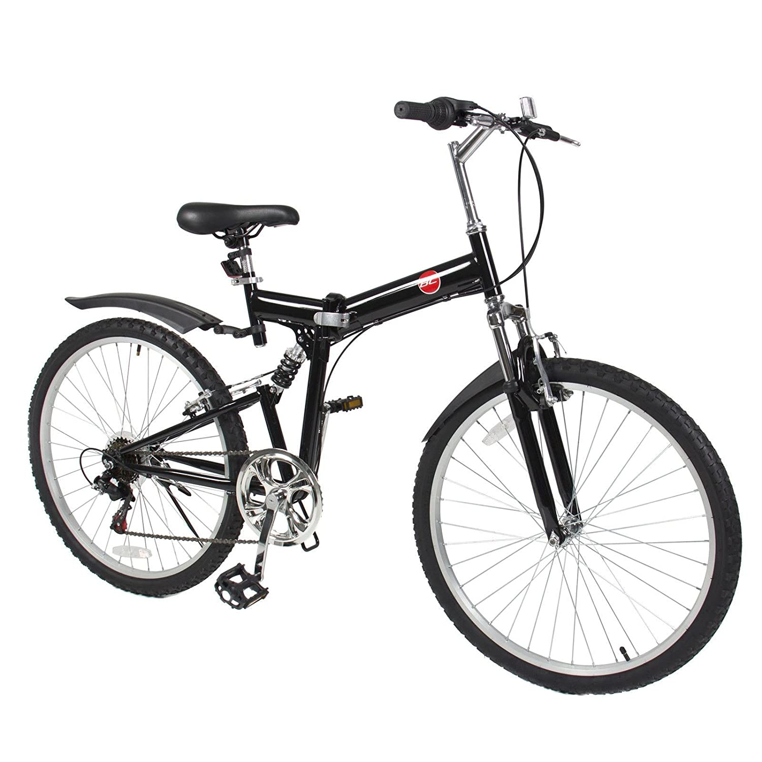 New 26 Folding Mountain Bike Foldable Bicycle 6 Sp