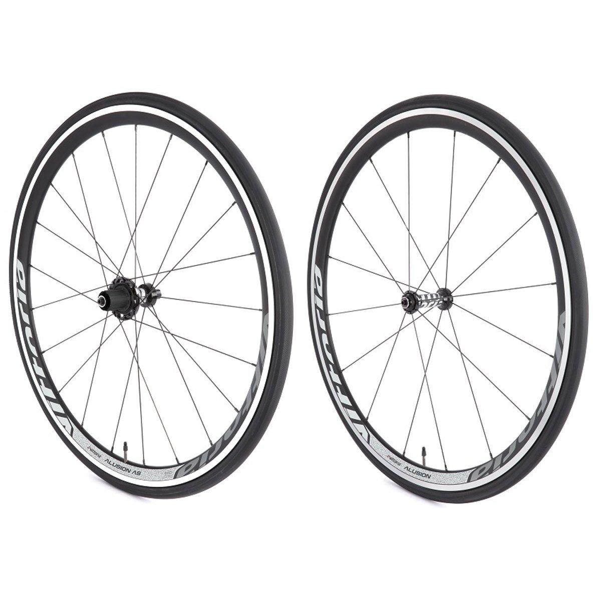 Vittoria Alusion Aero SRAM/Shimano 11 vitesses à relâchement rapide pour roue en alliage pour vélo-Noir B00P9DJTI2