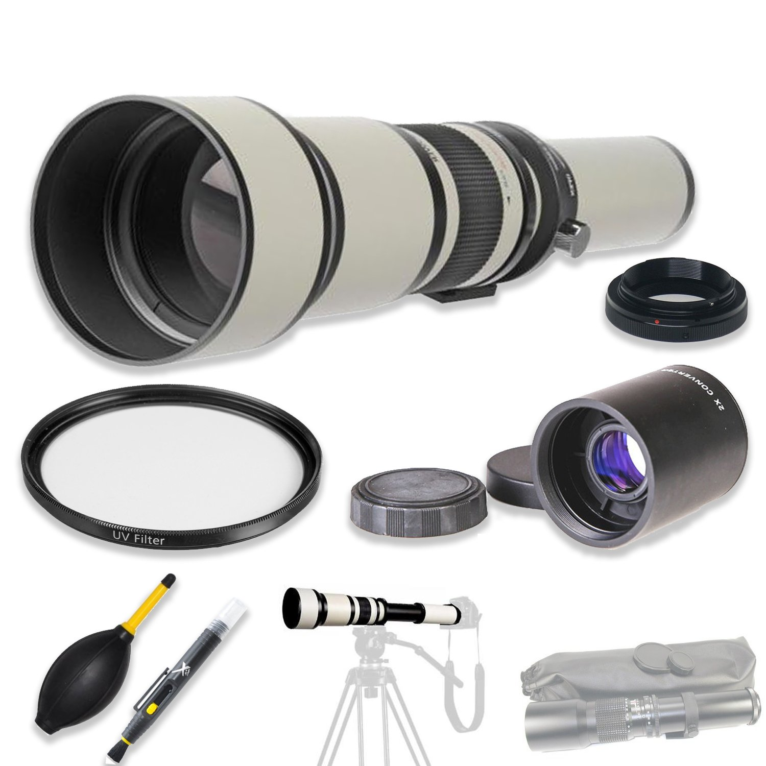 High Definition multi-coated for 650 40d – 1300 mm f 5d/8.0 – 16.0プリセット望遠レンズ+ 2 x Teleconverter & Accessories for Canon EOS DSLRs Including EOS 1d 5d 6d 7d 40d 50d 60d 70d 77d 80d 450d 500d 550d 600d 650d B07DX7JL3L, GReeD:8bdad3c4 --- ijpba.info