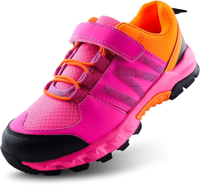 JABASIC Kids Hiking Shoes Outdoor Adventure Athletic Sneakers