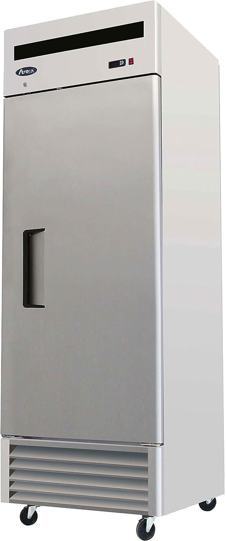 """27"""" 1 Door, 21 Cu.ft Bottom Mount, Stainless Steel Reach in Commercial Freezer"""
