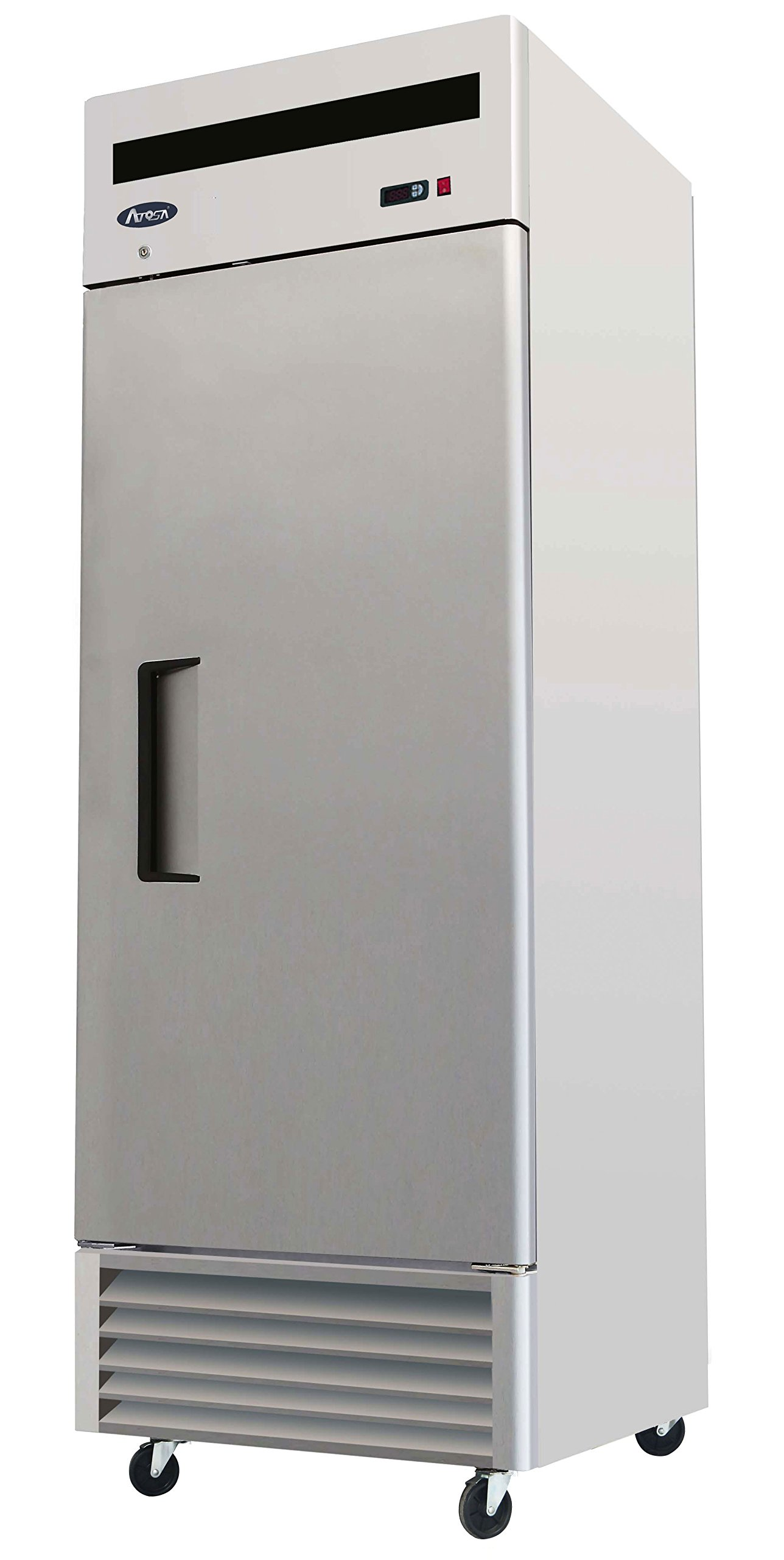 27'' 1 Door, 21 Cu.ft Bottom Mount, Stainless Steel Reach in Commercial Freezer by ATOSAUSA
