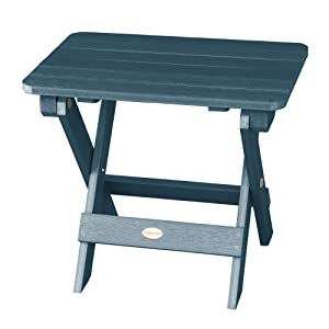 Highwood AD-TBS1-NBE Adirondack Side Table, Nantucket Blue