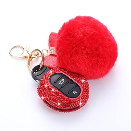 5721e76abc1 Amazon.com: MissBlue Handmade Crystal Key Fob Case For BMW Remote ...