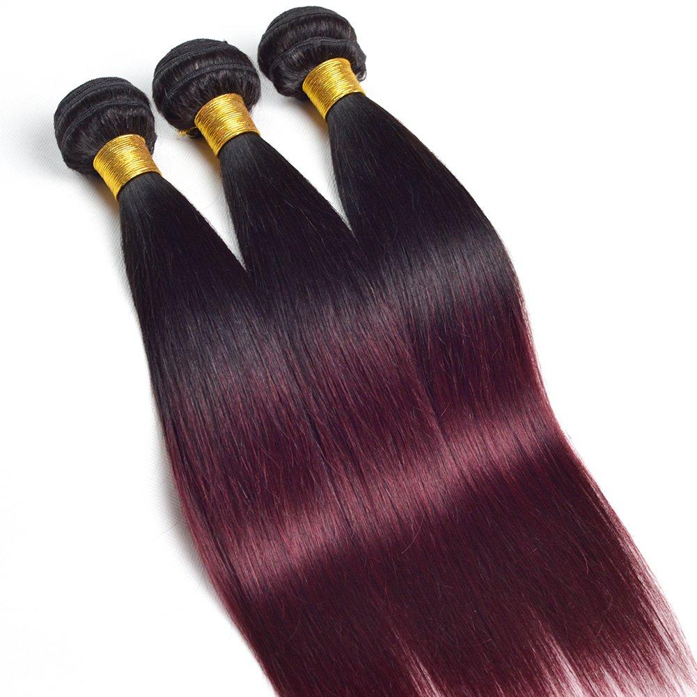 Amazon Ruiyu 7a Grade Ombre Hair Extensions Brazilian Hair 3