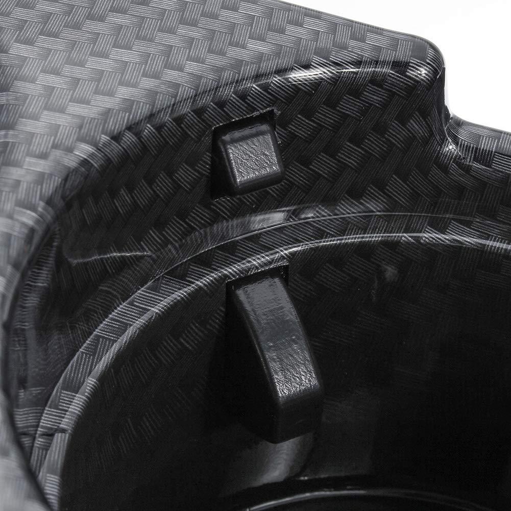 YSHTANJ☛ Bo/îte de rangement int/érieure en fibre de carbone pour console centrale BMW E46 S/érie 3 99-06