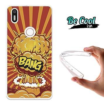Becool® Fun - Funda Gel Flexible para Bq Aquaris X5 Plus ,Carcasa TPU fabricada con la mejor Silicona, protege y se adapta a la perfección a tu ...