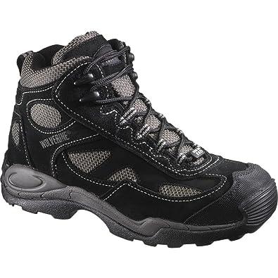 8fd4350c7d0 Wolverine Men's Work Athletic Mid Hiker Steel Toe Sd Black/Black ...