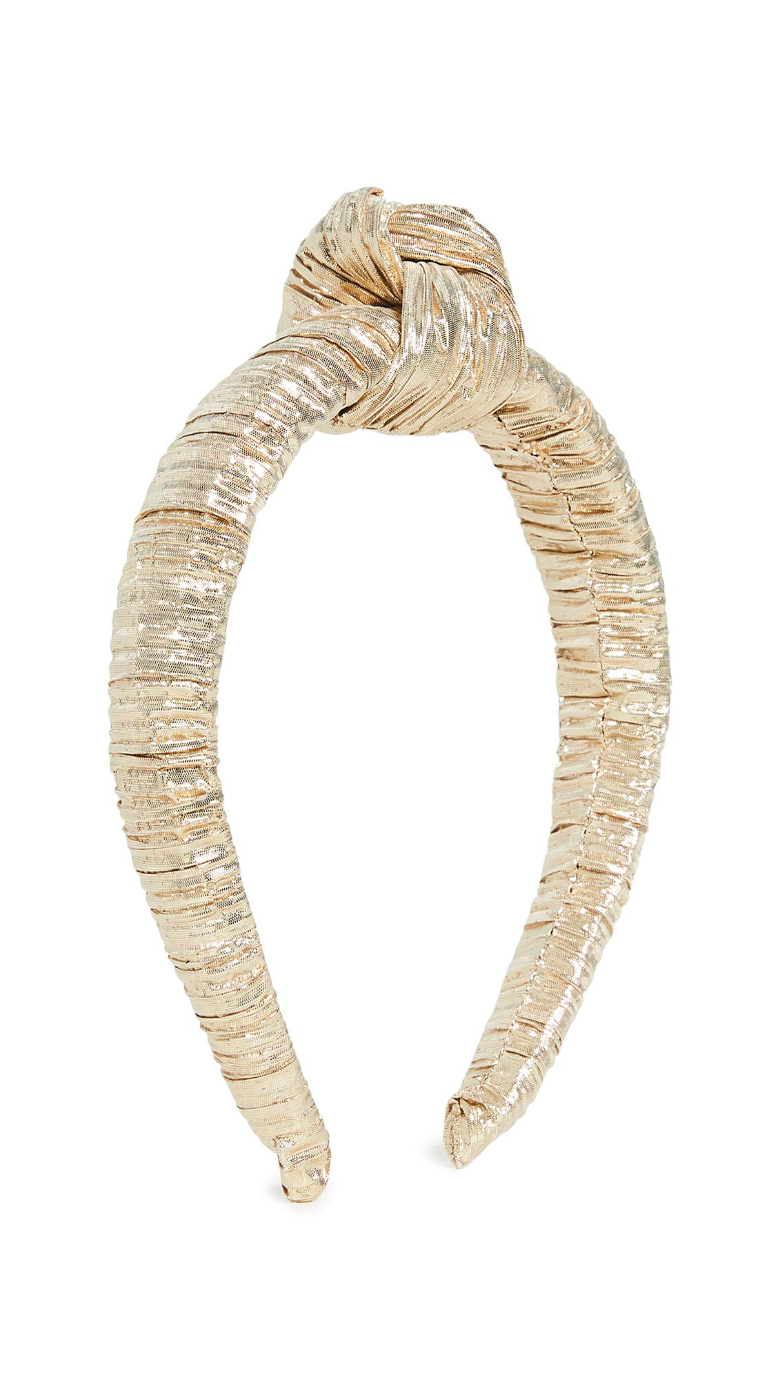 Loeffler Randall Women's Knot Headband, Gold, One Size by Loeffler Randall