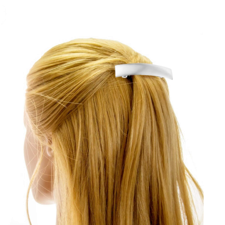 PPX Gro/ße Haarspangen Metall Haarnadeln Einfache Franz/ösische Haarspangen f/ür Damen und M/ädchen Gold