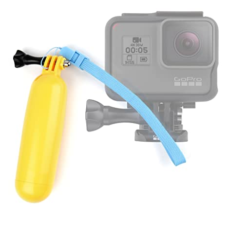 DURAGADGET Flotador Color Amarillo para Cámara De Acción GoPro HERO5 Black/GoPro HERO5 Session: Amazon.es: Electrónica