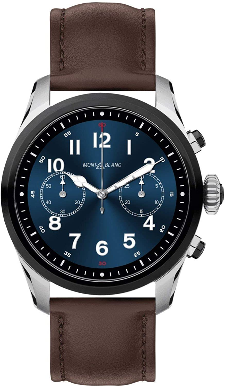Reloj Montblanc Summit 2 Smartwatch 119439 Bicolor Acero y Piel marrón