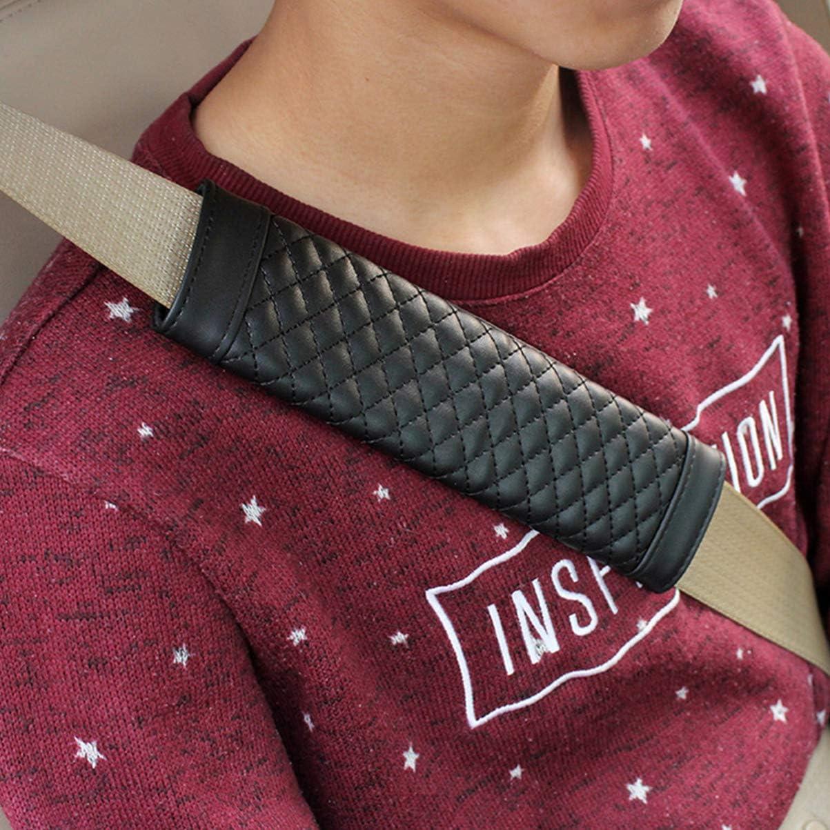 with 60% off discount VOSAREA 2pcs Auto Car Lambskin Seatbelt,Car ...